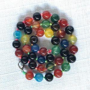 Chakra bead necklace